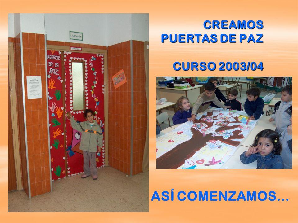 CREAMOS PUERTAS DE PAZ CURSO 2003/04