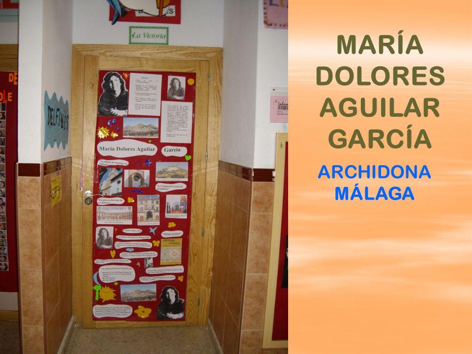 MARÍA DOLORES AGUILAR GARCÍA