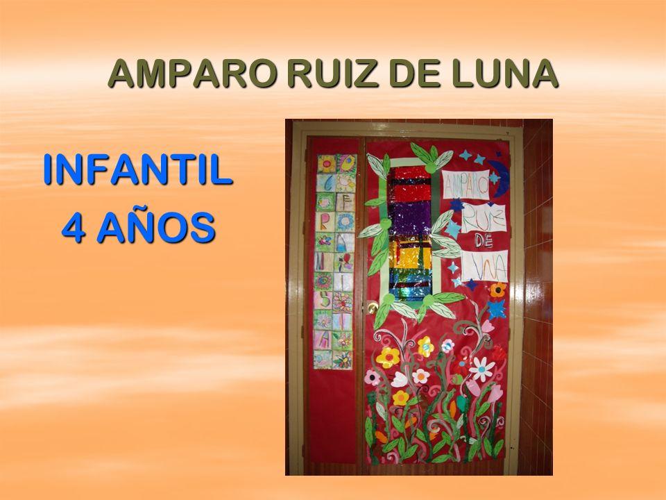 AMPARO RUIZ DE LUNA INFANTIL 4 AÑOS