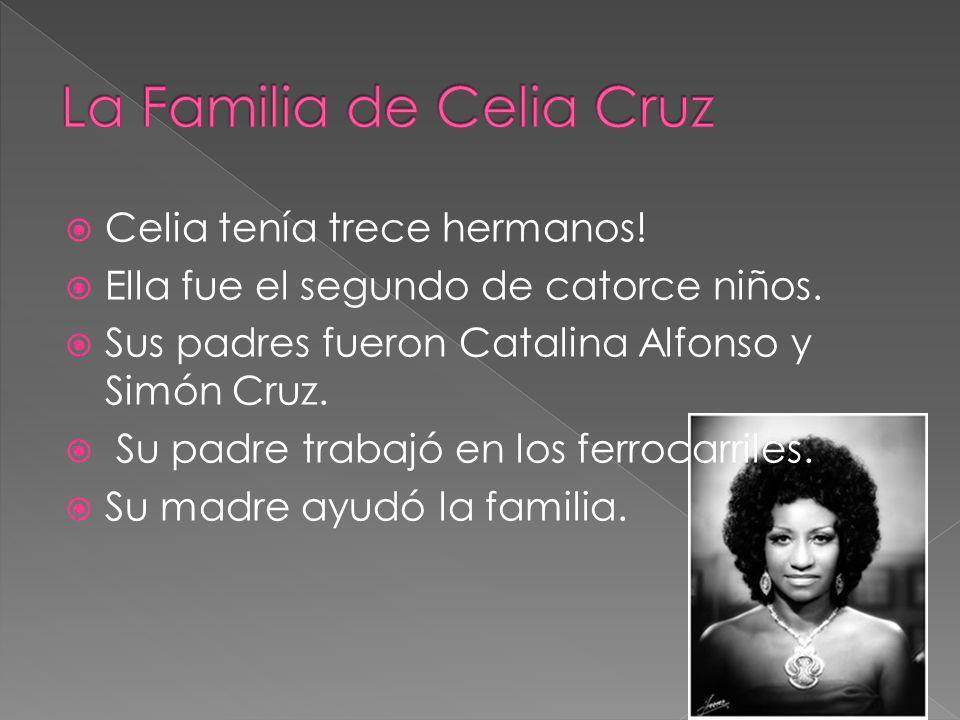 La Familia de Celia Cruz