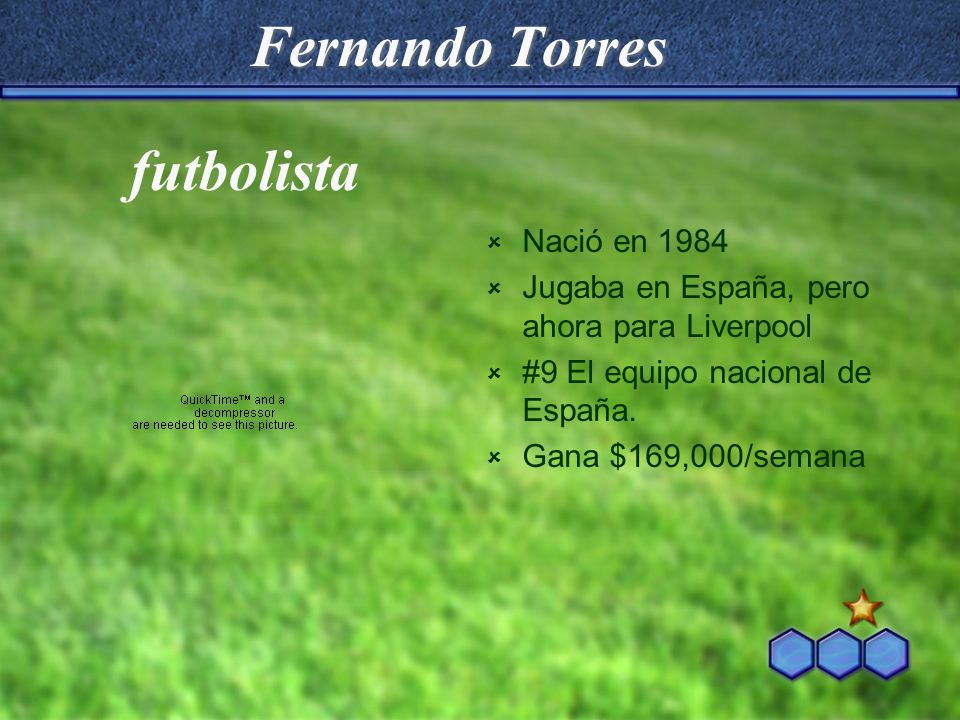 Fernando Torres futbolista Nació en 1984