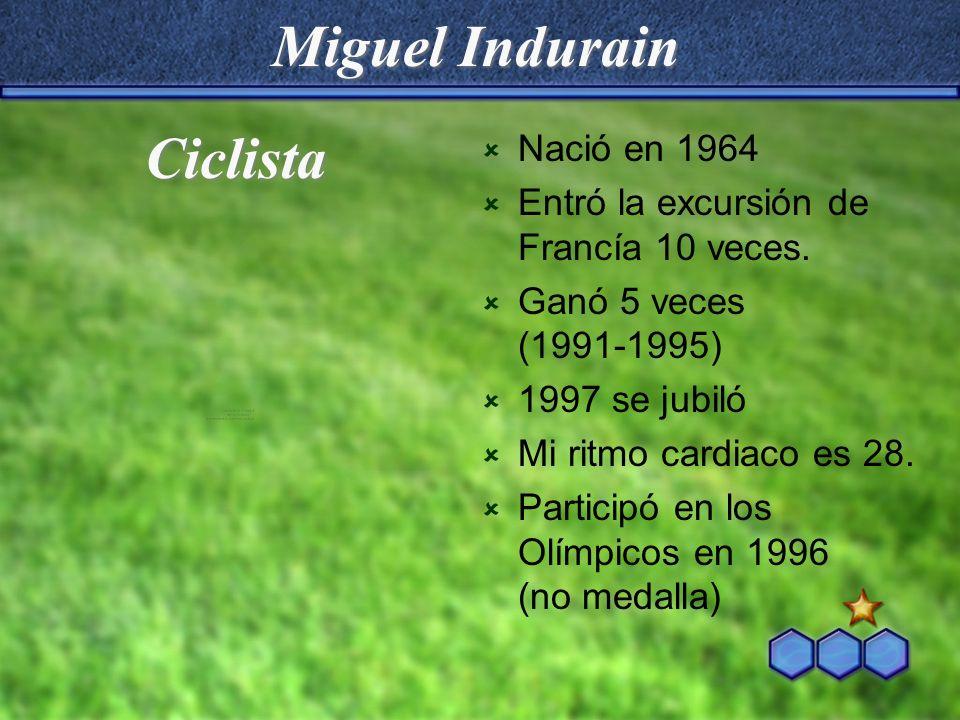 Miguel Indurain Ciclista