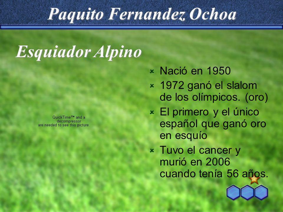 Paquito Fernandez Ochoa
