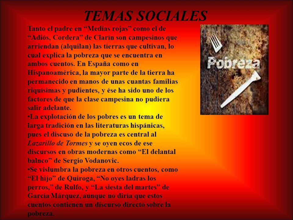 TEMAS SOCIALES
