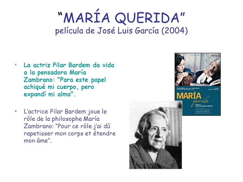 MARÍA QUERIDA película de José Luis García (2004)