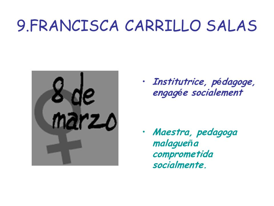 9.FRANCISCA CARRILLO SALAS