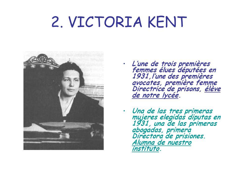 2. VICTORIA KENT