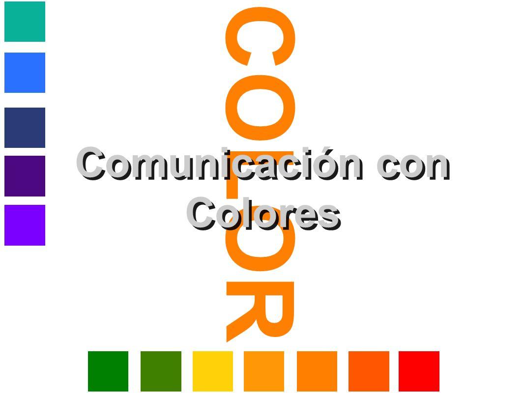 Comunicación con Colores