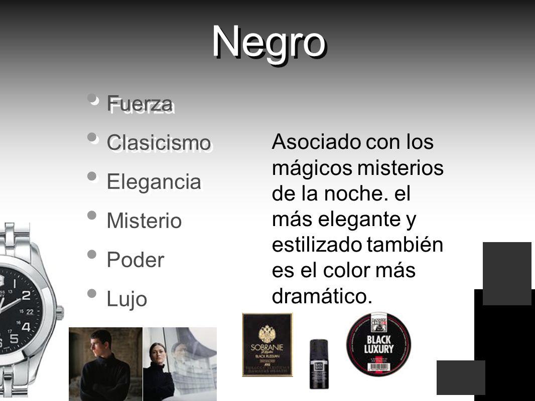 Negro Fuerza Clasicismo Elegancia