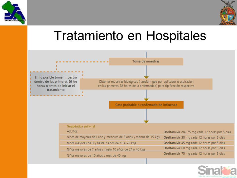 Tratamiento en Hospitales