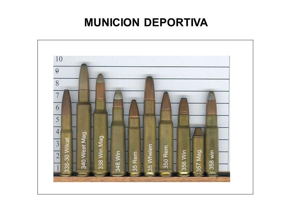 MUNICION DEPORTIVA