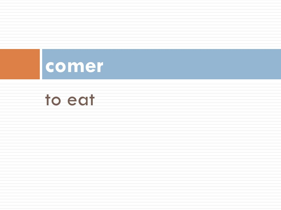comer to eat 54