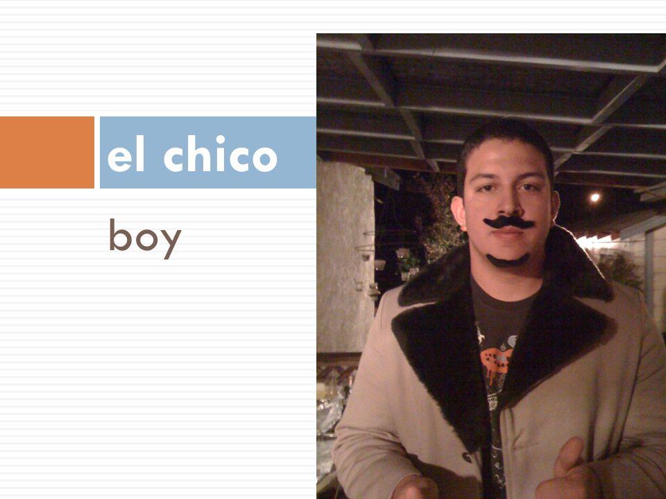 el chico boy