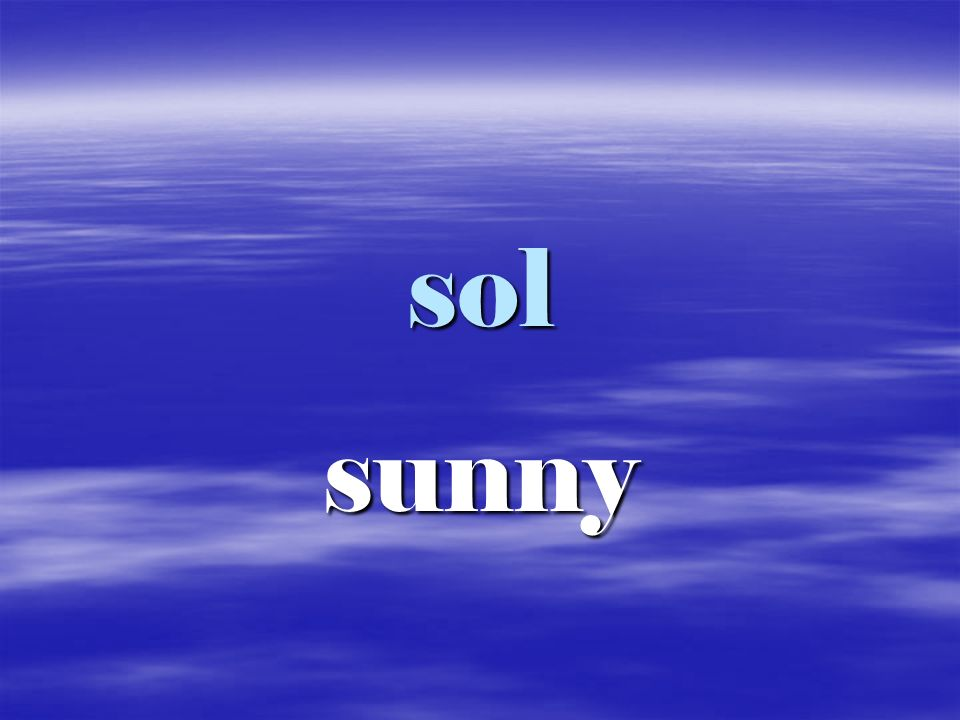 sol sunny