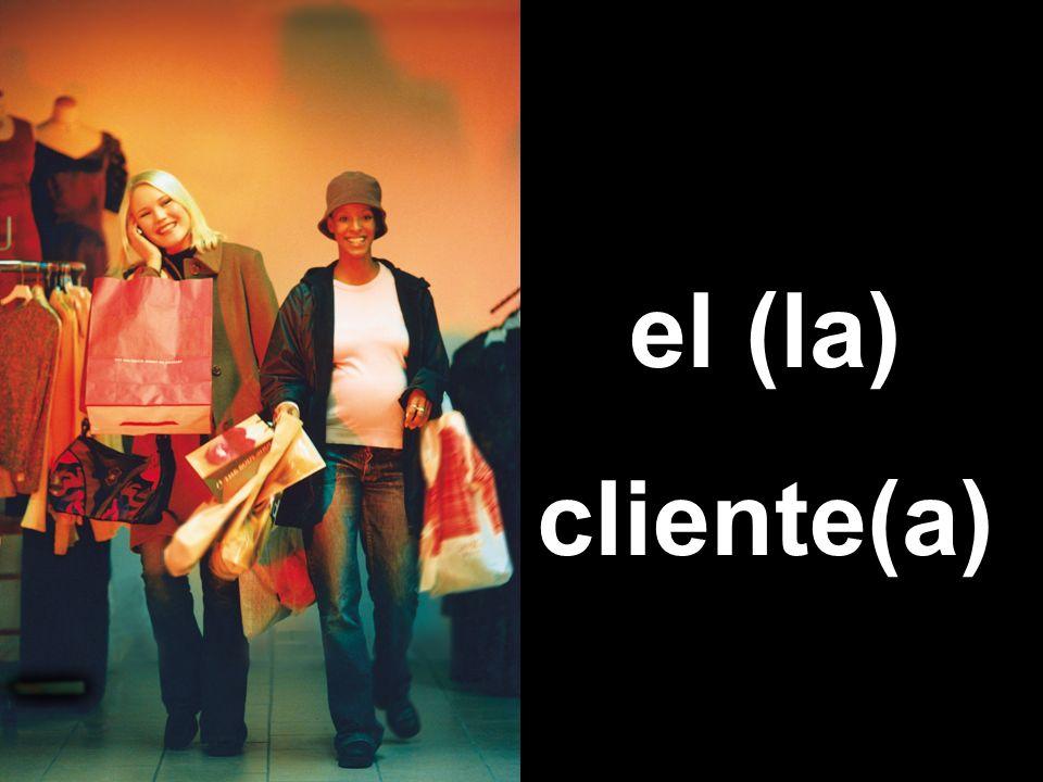 el (la) cliente(a)