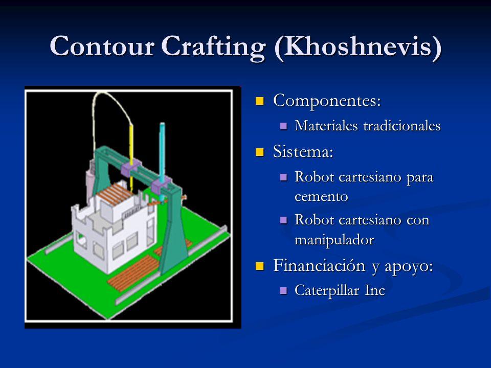 Contour Crafting (Khoshnevis)