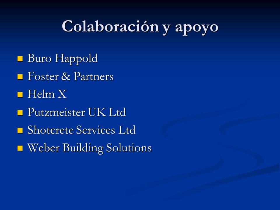 Colaboración y apoyo Buro Happold Foster & Partners Helm X