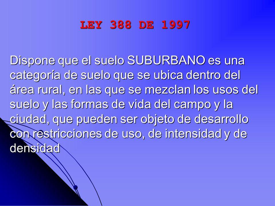 LEY 388 DE 1997