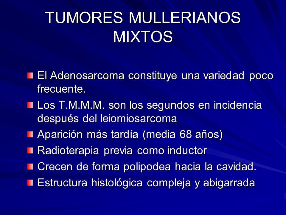 TUMORES MULLERIANOS MIXTOS