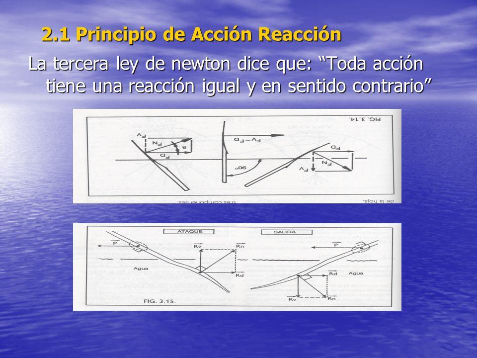 2.1 Principio de Acción Reacción