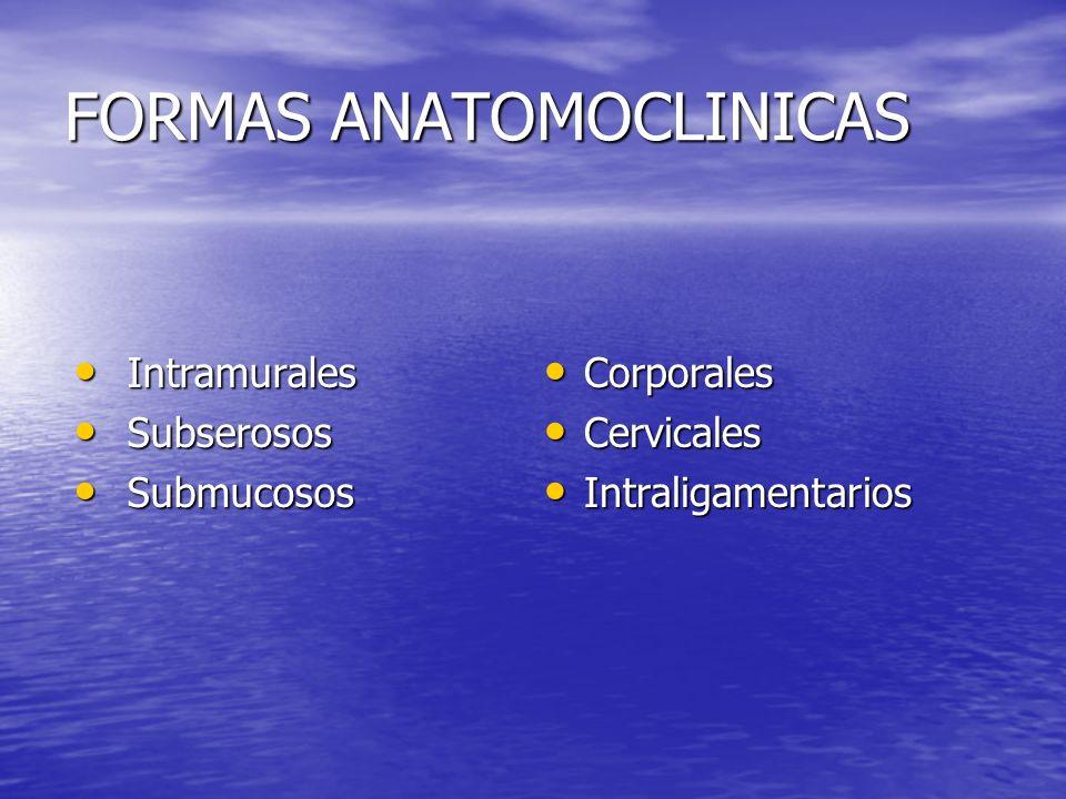 FORMAS ANATOMOCLINICAS