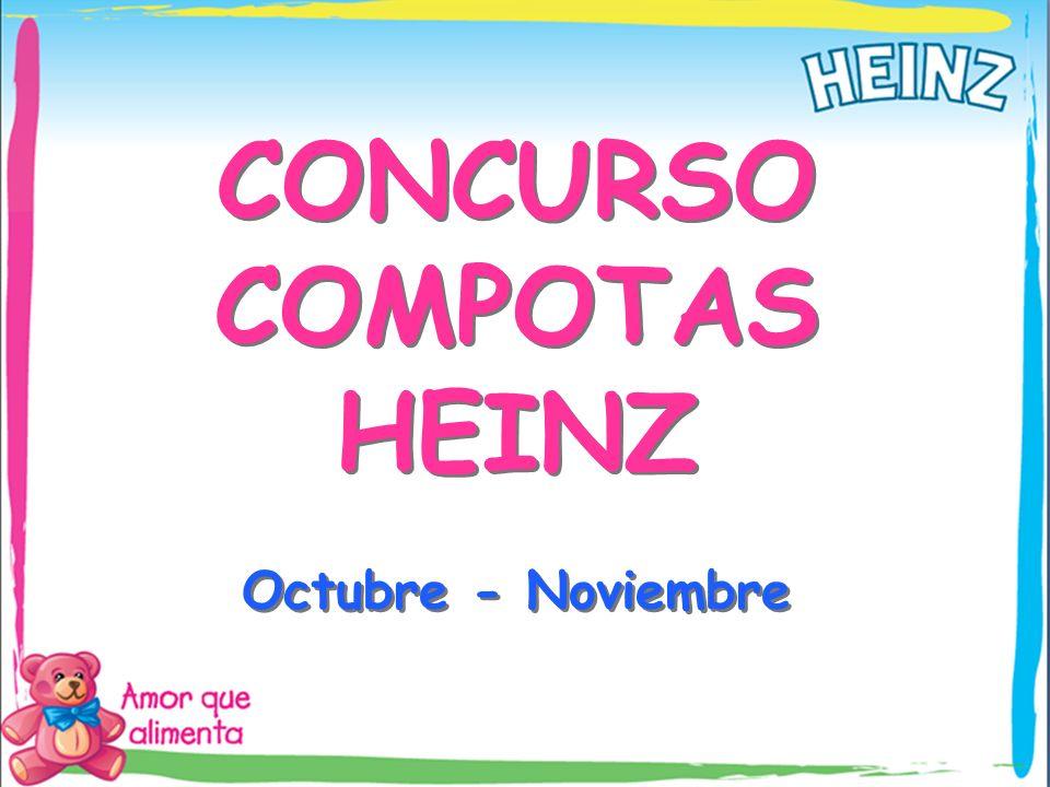 CONCURSO COMPOTAS HEINZ