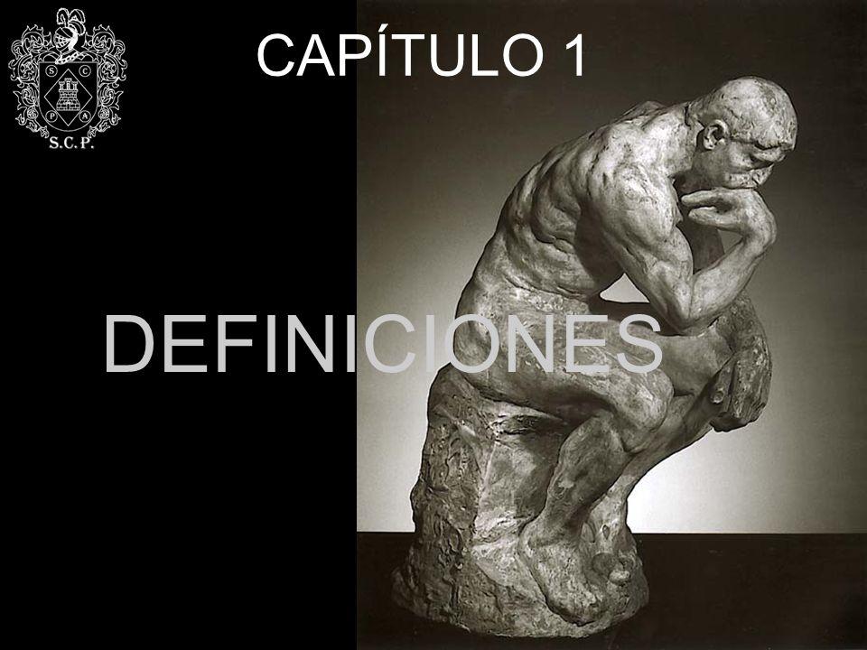 CAPÍTULO 1 DEFINICIONES