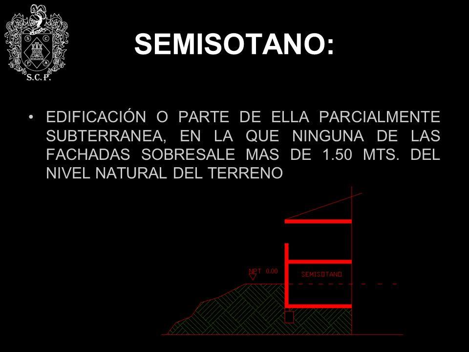 SEMISOTANO: