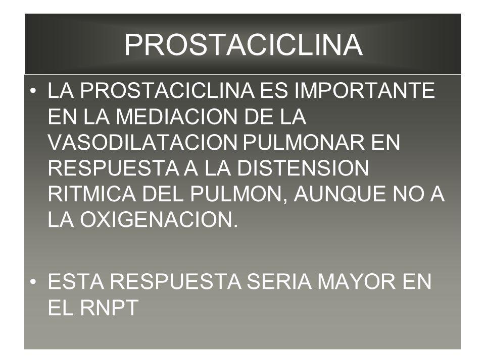 PROSTACICLINA