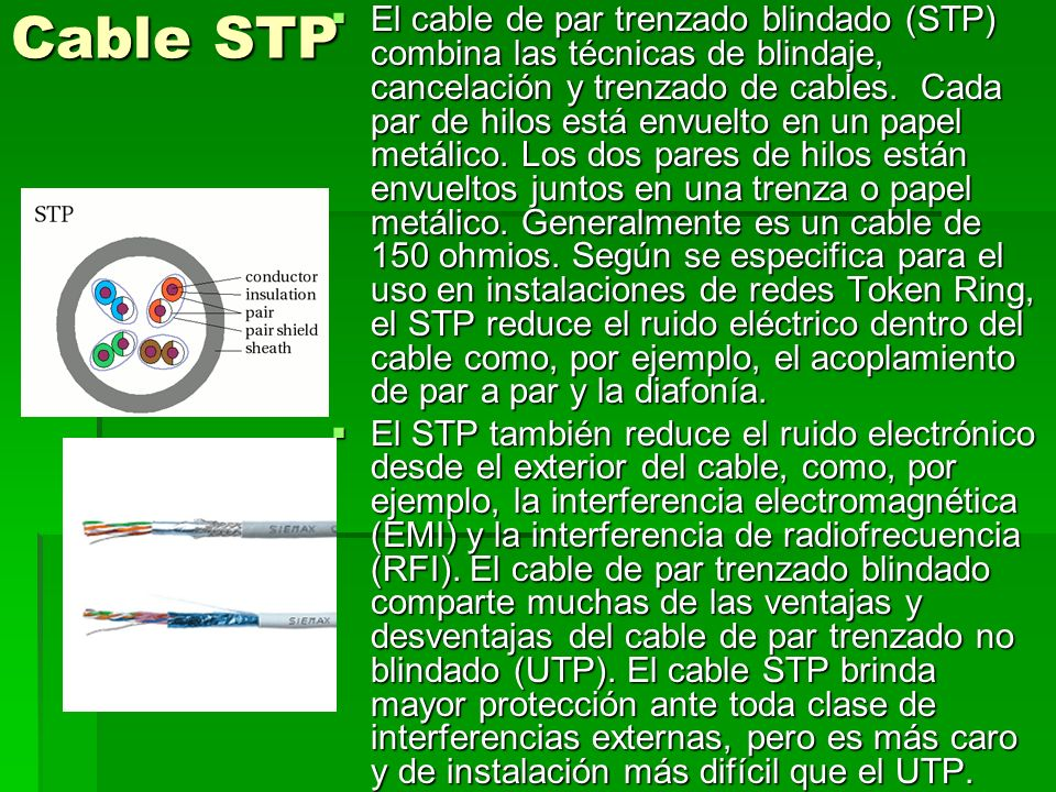 Cable STP