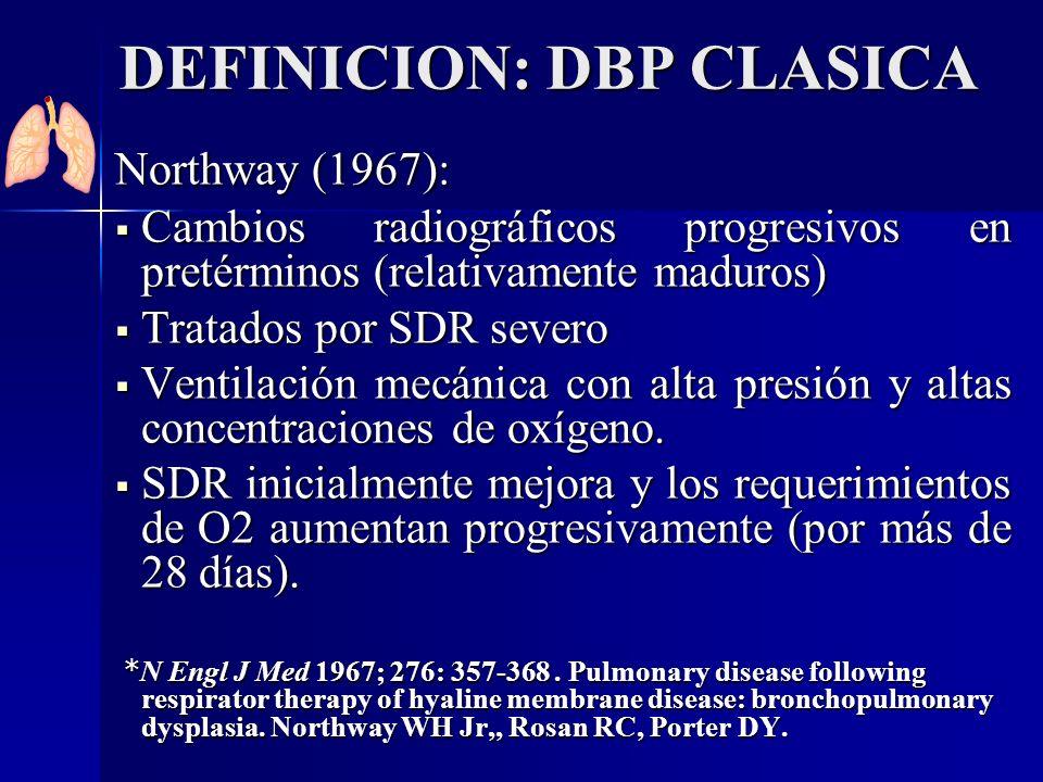 DEFINICION: DBP CLASICA