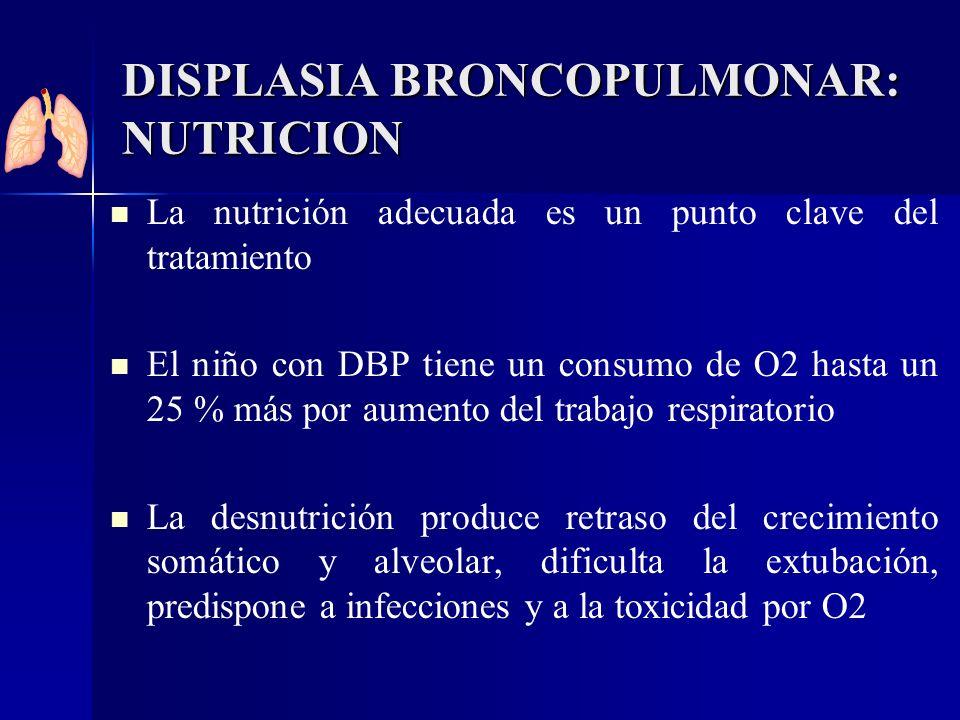 DISPLASIA BRONCOPULMONAR: NUTRICION