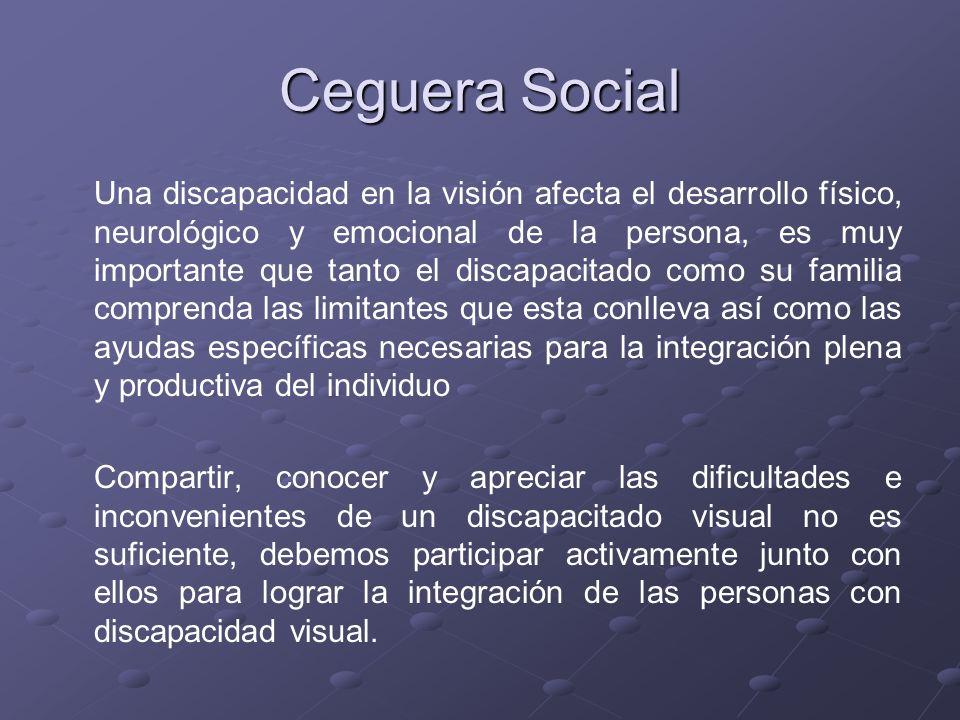 Ceguera Social