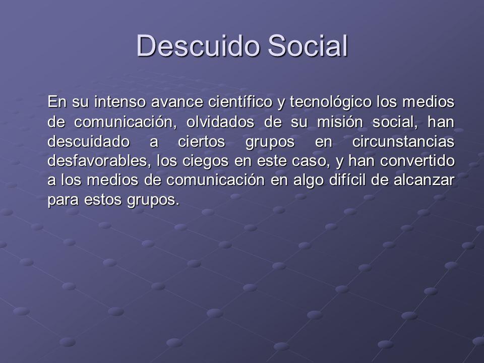 Descuido Social