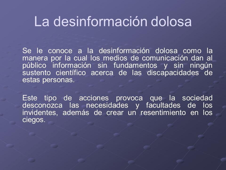 La desinformación dolosa