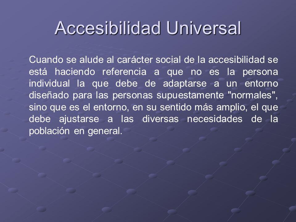 Accesibilidad Universal