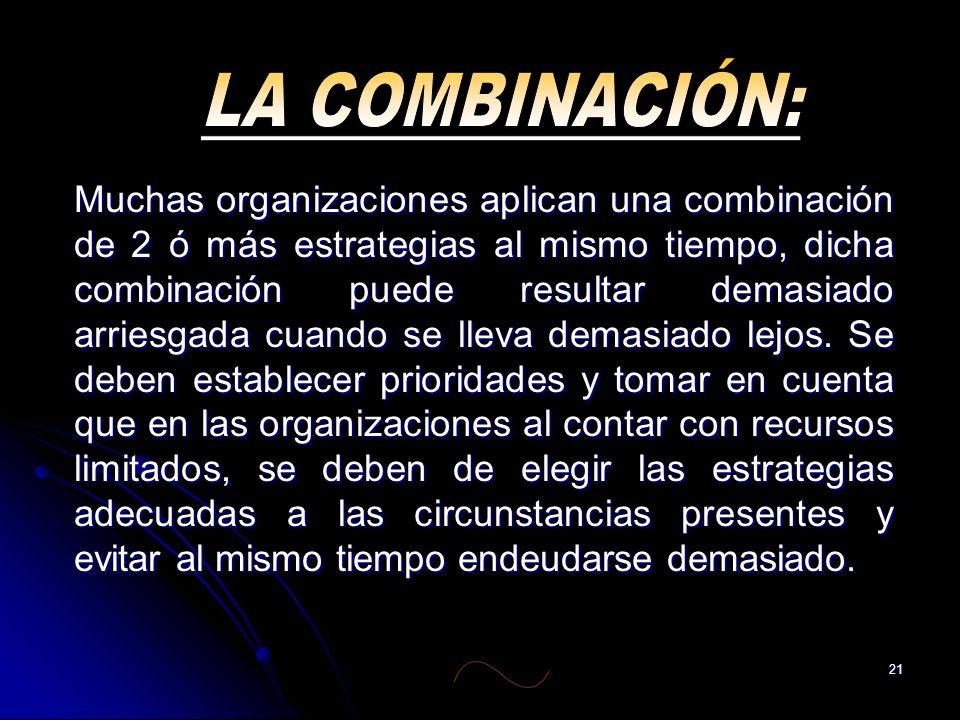 LA COMBINACIÓN: