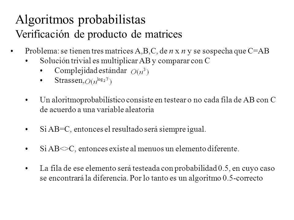Algoritmos probabilistas