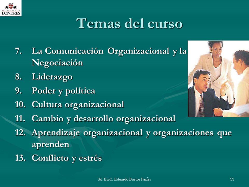 M. En C. Eduardo Bustos Farías