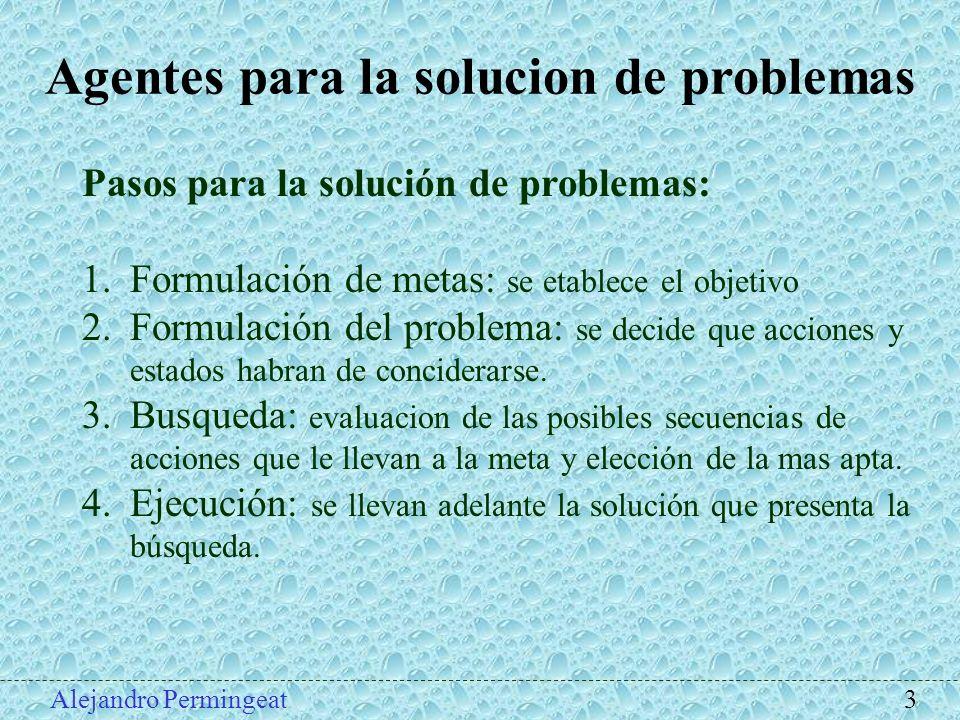 Agentes para la solucion de problemas