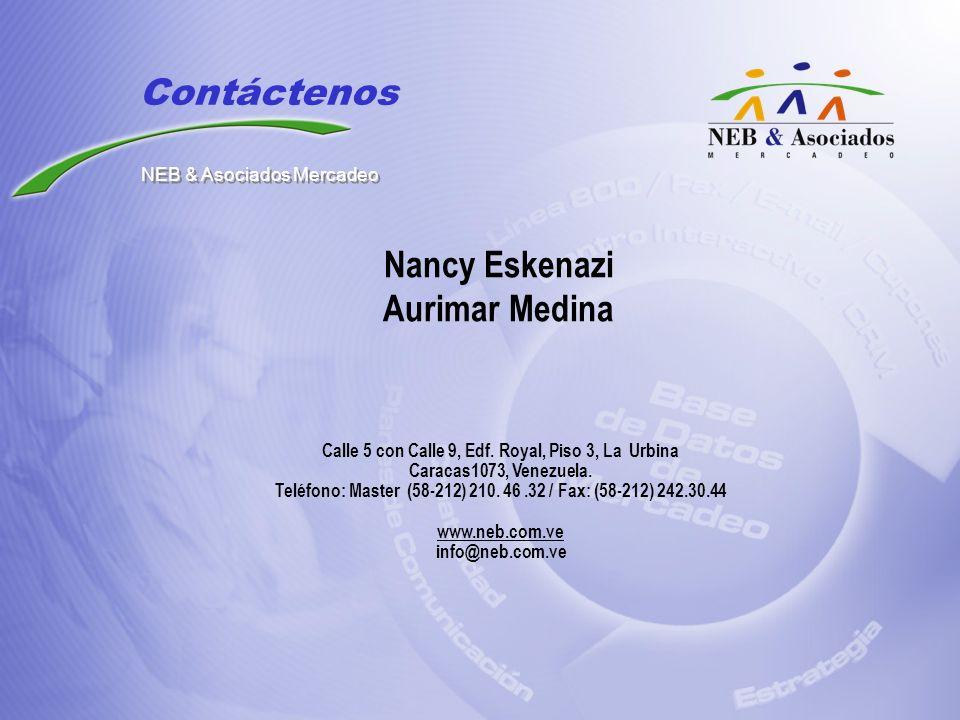 Nancy Eskenazi Aurimar Medina