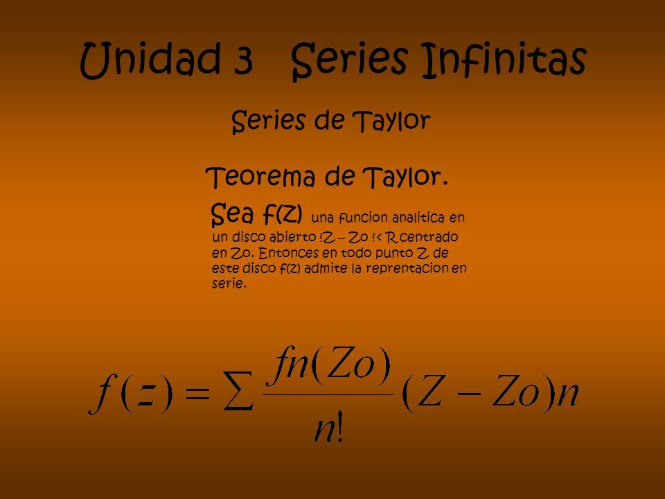 Unidad 3 Series Infinitas