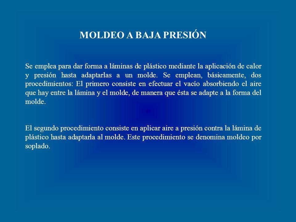MOLDEO A BAJA PRESIÓN