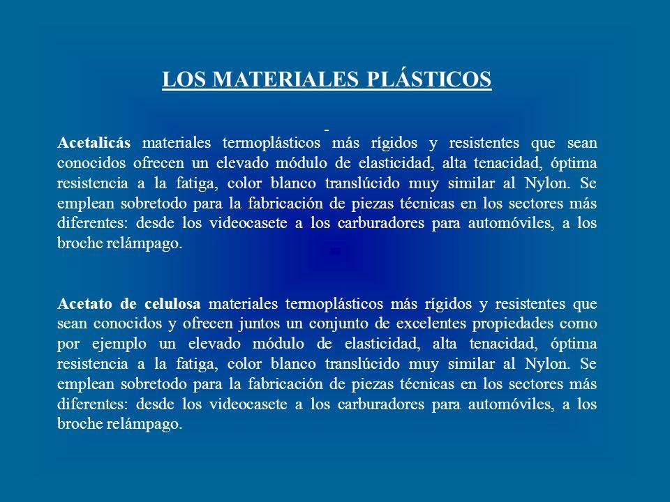 LOS MATERIALES PLÁSTICOS