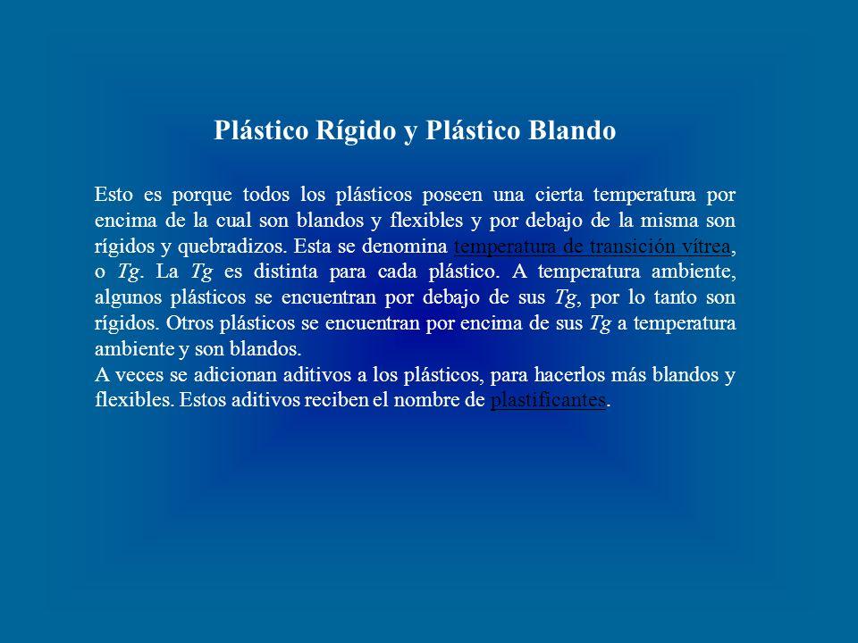 Plástico Rígido y Plástico Blando