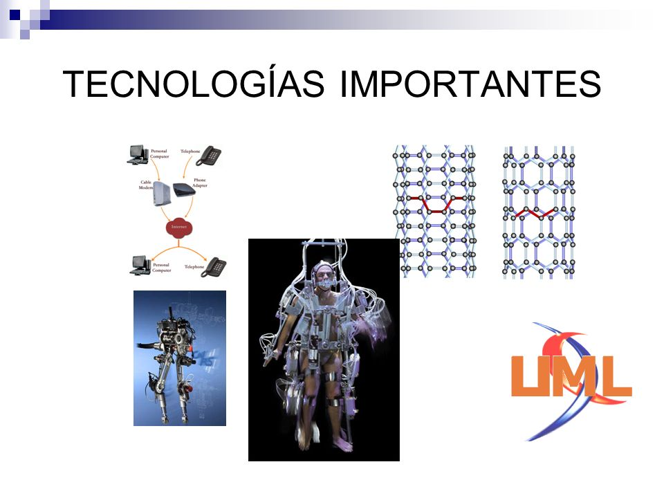 TECNOLOGÍAS IMPORTANTES