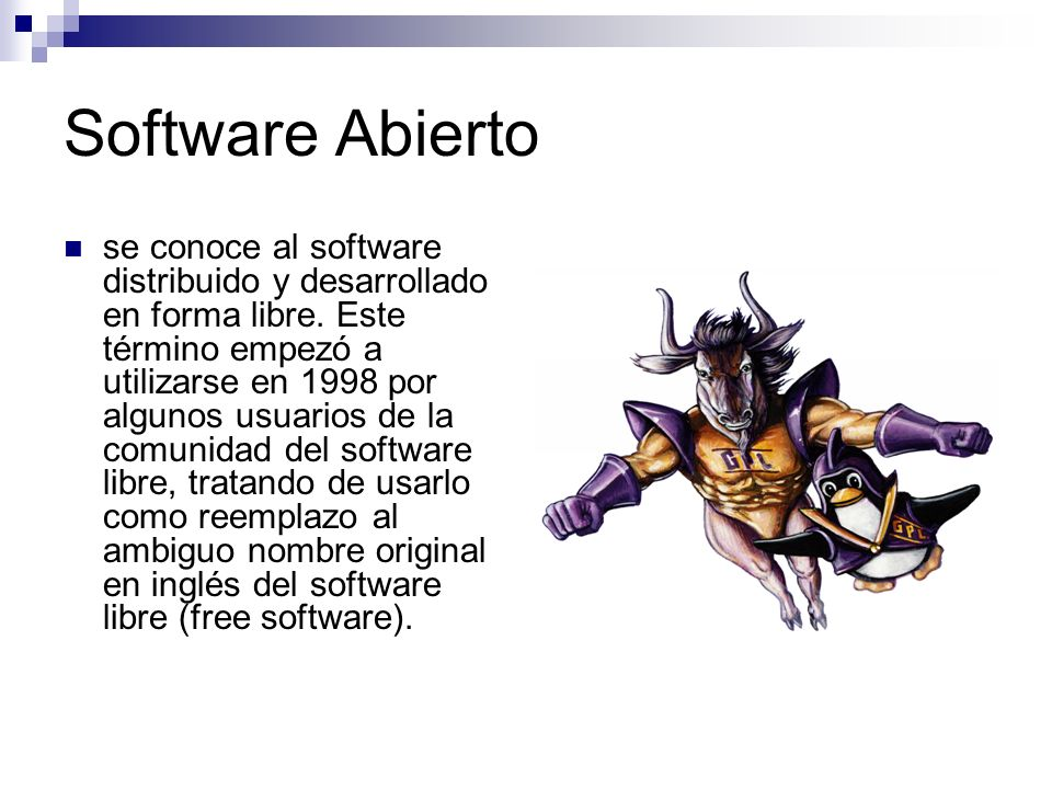 Software Abierto
