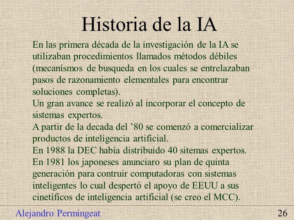 Historia de la IA