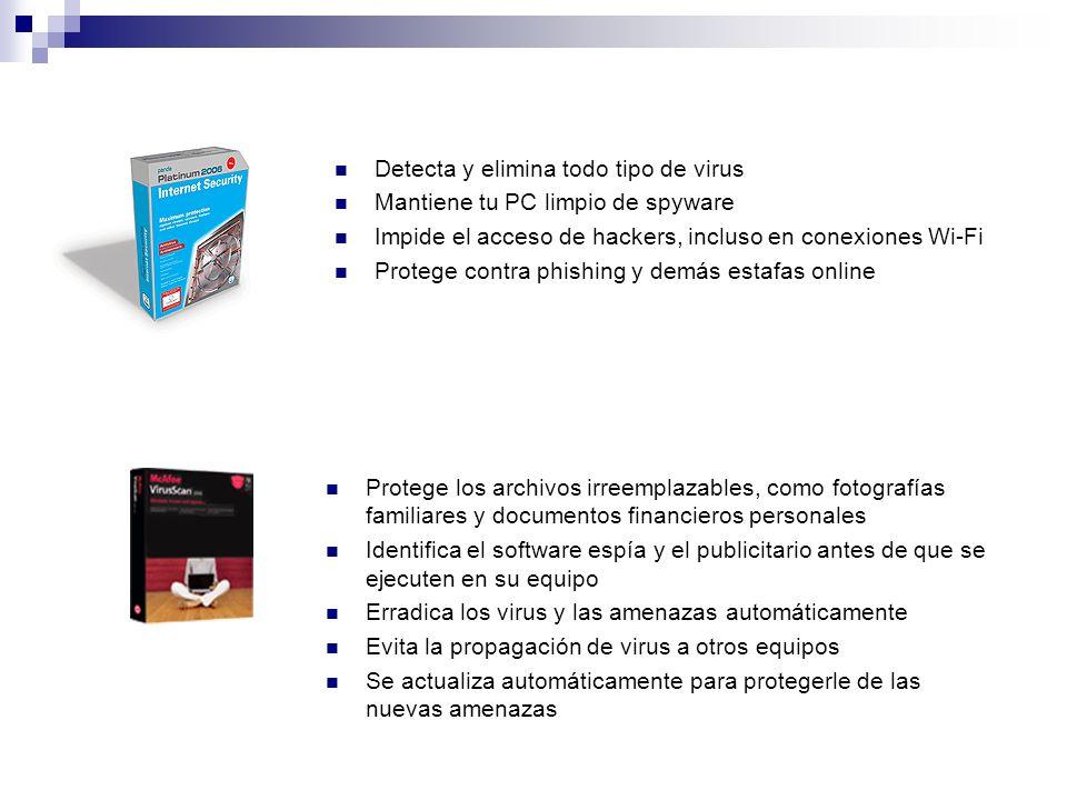 Detecta y elimina todo tipo de virus