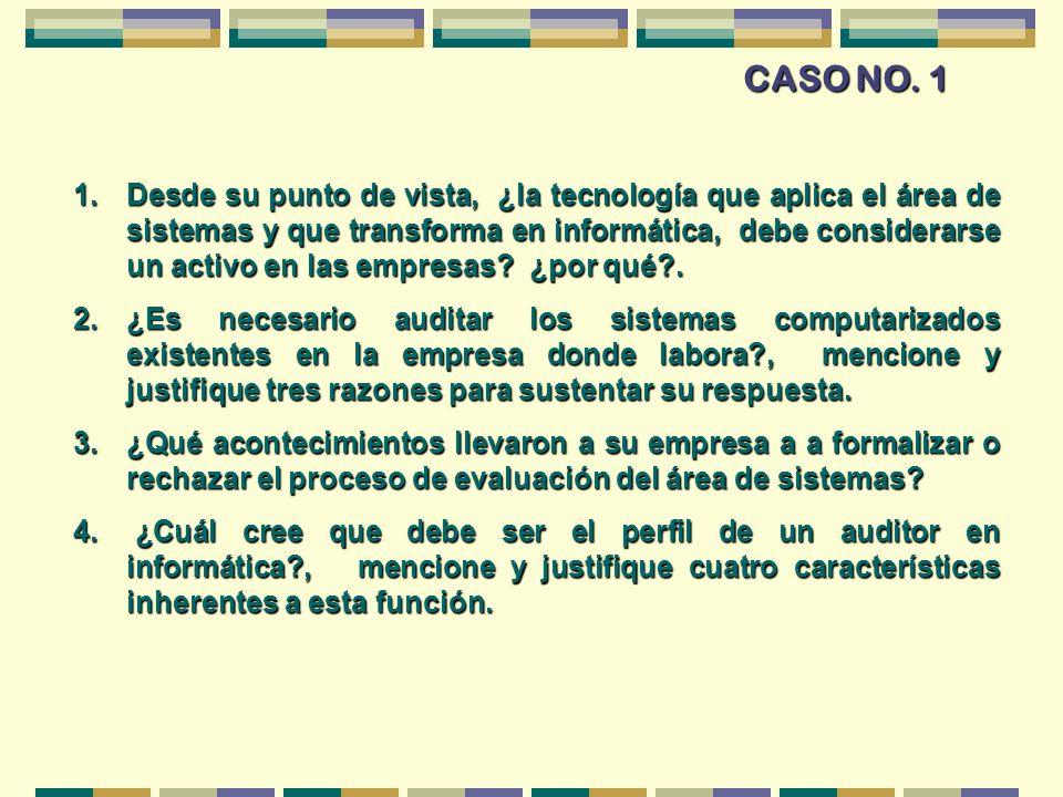 CASO NO. 1